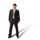 Lonely business man Royalty Free Stock Photos