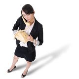 Lonely business woman Royalty Free Stock Photos