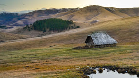 Lonely Cabin Royalty Free Stock Photo