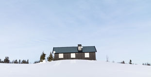 Lonely Cabin Stock Photos