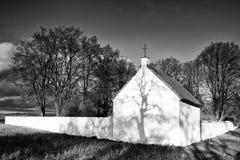 Lonely cemetery Stock Photos