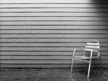 Lonely chair Royalty Free Stock Photography