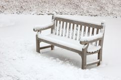 Lonely chair Stock Image