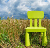 Lonely chair Royalty Free Stock Photos