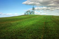 Lonely Chapel Stock Photography