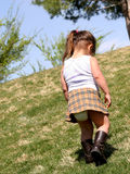 Lonely Child Royalty Free Stock Photos