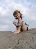Lonely child Royalty Free Stock Images