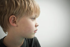 Lonely child Royalty Free Stock Photo