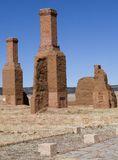Lonely chimneys Stock Photos
