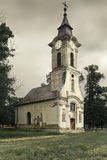 Lonely church Royalty Free Stock Image