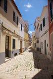 Lonely Ciutadella street Stock Photo