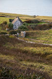 Lonely Cottage By The Sea Stock Photo