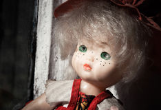 Lonely doll Royalty Free Stock Photography