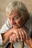 Lonely elderly man Royalty Free Stock Photography