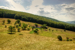 Lonely Farm House Royalty Free Stock Photography