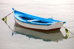 Lonely fishing boat Stock Photography