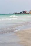 Lonely florida beach Stock Images