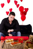 Lonely gay waiting Stock Photos