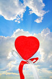 Lonely heart Stock Image