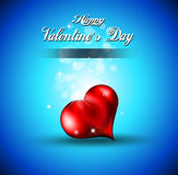 Lonely Heart Background for Valentine's Royalty Free Stock Image