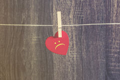 Lonely heart Royalty Free Stock Photography