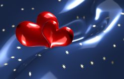 Lonely hearts Royalty Free Stock Image