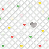 Lonely hearts concept texture. Stock Image