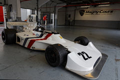Lonely Hesketh in the pits Stock Photo