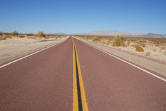Lonely highway Stock Images