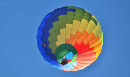 Lonely Hot Air Balloon 1 Stock Photography