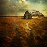 Lonely house Royalty Free Stock Photography