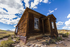 Lonely house in Ghost town Bodie, USA Stock Photos