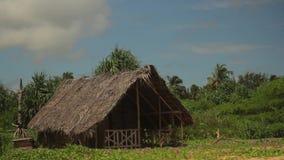 Lonely hut in the jungle. Sri Lanka. Asia.