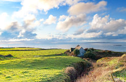 Lonely irish house in Doolin Royalty Free Stock Photos