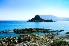 Lonely island Stock Image