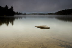 Lonely Lake Stock Images