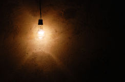 Lonely lamp Royalty Free Stock Photography