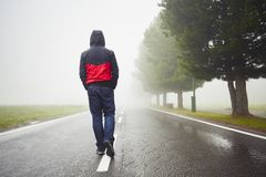 Free Lonely Man Stock Image - 55938151