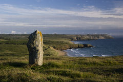 Lonely megalith Royalty Free Stock Image