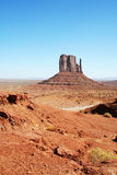 Lonely Monument Valley stock image