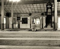 A lonely Mosque Stock Images