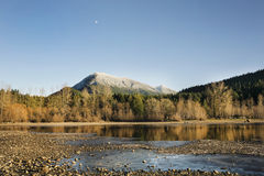 Lonely mountain Royalty Free Stock Photography