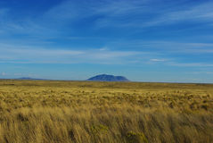 Lonely mountain in the prairie, Idaho Stock Photography