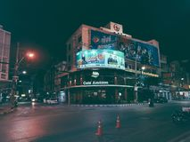 Lonely night royalty free stock photography