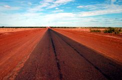 Lonely Outback Road Stock Image