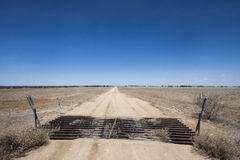 Lonely Outback Road Royalty Free Stock Photos