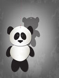Lonely panda Royalty Free Stock Images