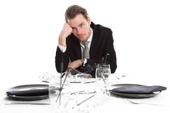 Lonely party guy Stock Images
