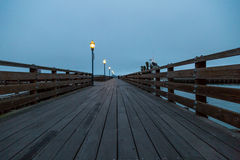 Lonely Pier Stock Photography