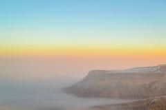 Lonely plateau sunrise Royalty Free Stock Photo